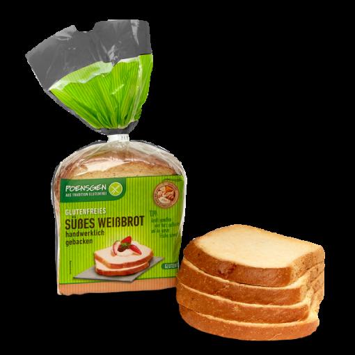 Poensgen Zoet Wit Brood Gesneden