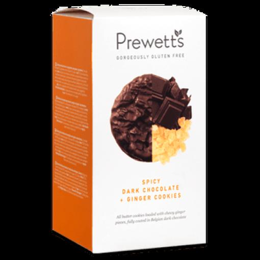 Prewetts Spicy Dark Chocolate & Ginger Cookies