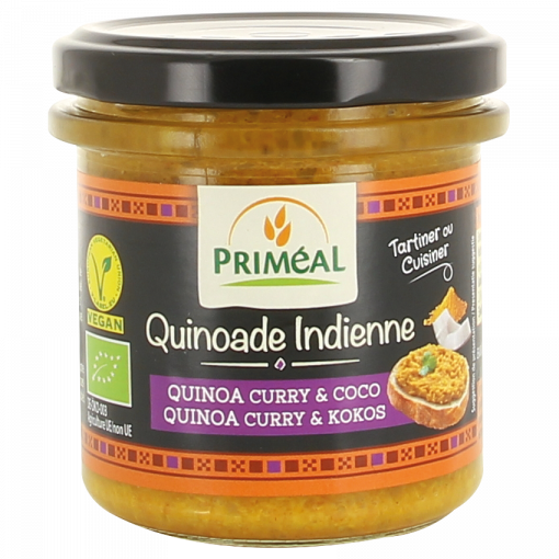 Primeal Quinoa Spread Curry & Kokos