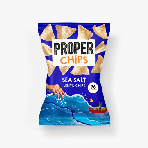 Propercorn Linzen Chips Zeezout 85 gram