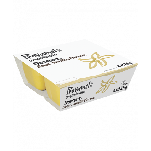 Provamel Soja Dessert Vanille 4-pack