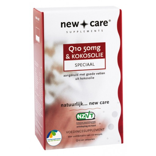 New Care Q10 50mg & Kokosolie 60 Capsules