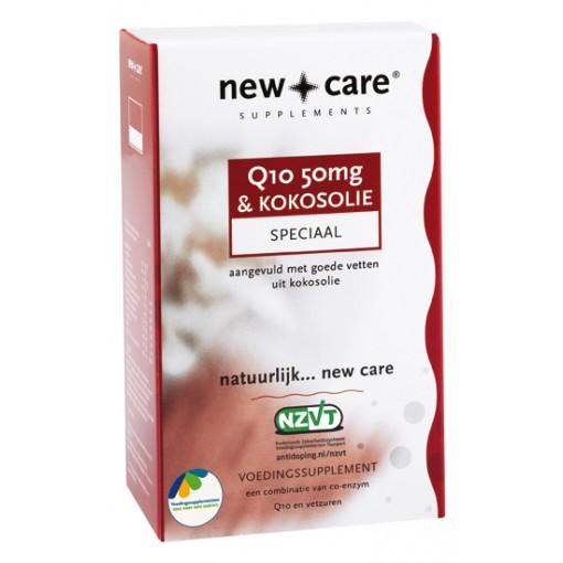 New Care Q10 50mg & Kokosolie 150 Capsules