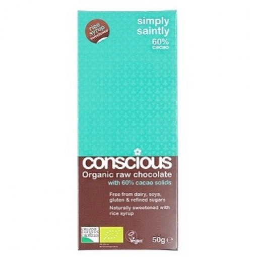 Conscious Raw Chocolate Simply Saintly