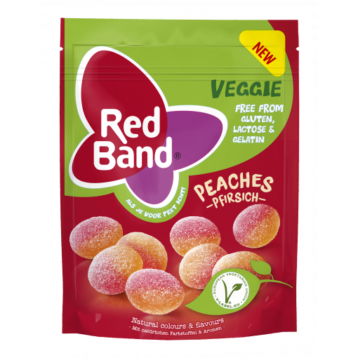 Red Band Peaches Veggie