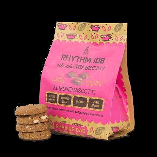 Rhythm 108 Almond Biscotti Biscuits