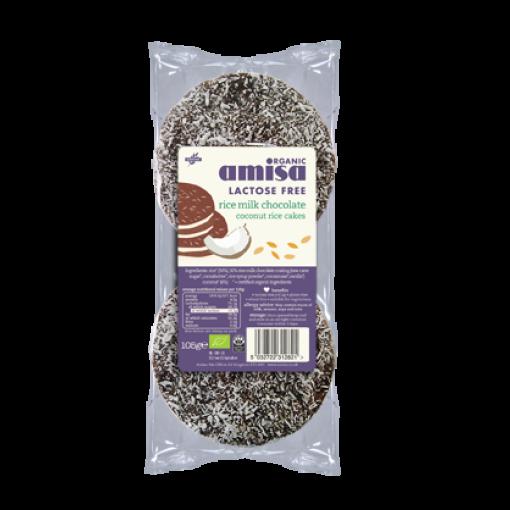 Amisa Rijstwafels Rijstmelk Kokos Chocolade