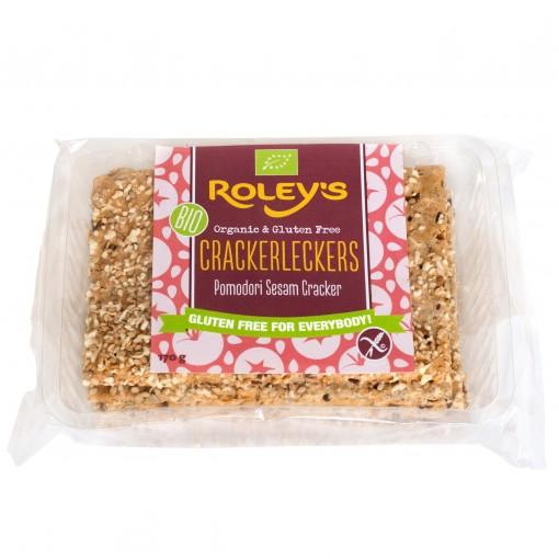 Roley's Crackers Pomodori Sesam (T.H.T. 07-02-19)