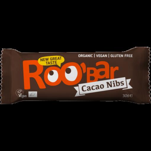 Roobar Cacao Nibs & Amandelen