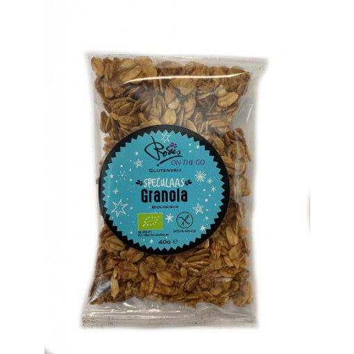 Rosies On The Go Speculaas Granola