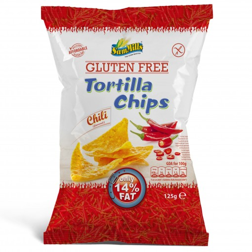 Sam Mills Tortilla Chips Chili