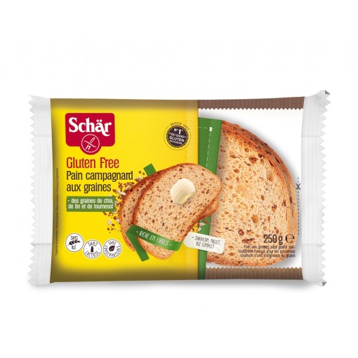 Schar Pain Campagnard Grains