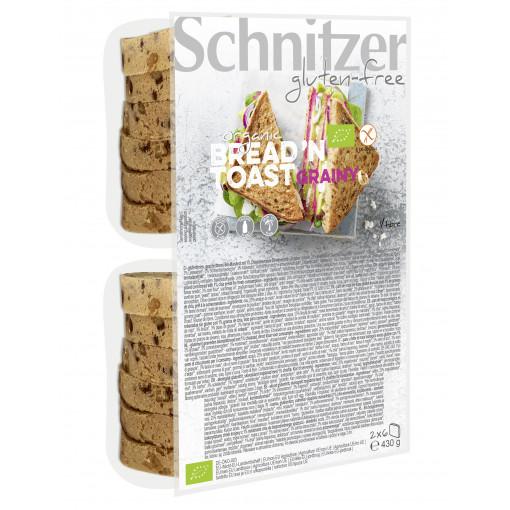 Schnitzer Bread 'N Toast Grainy