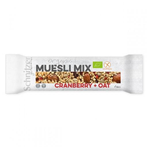 Schnitzer Muesli Mix Cranberry Haver