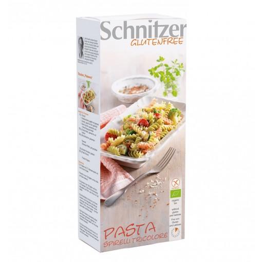 Schnitzer Pasta Spirelli Tricolore