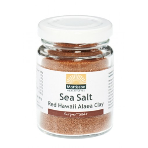 Mattisson Sea Salt Red Hawaii Alaea Clay