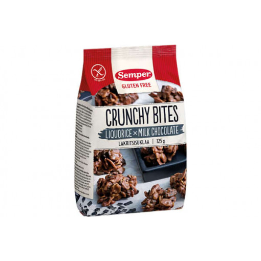 Semper Crunchy Bites Drop Chocola