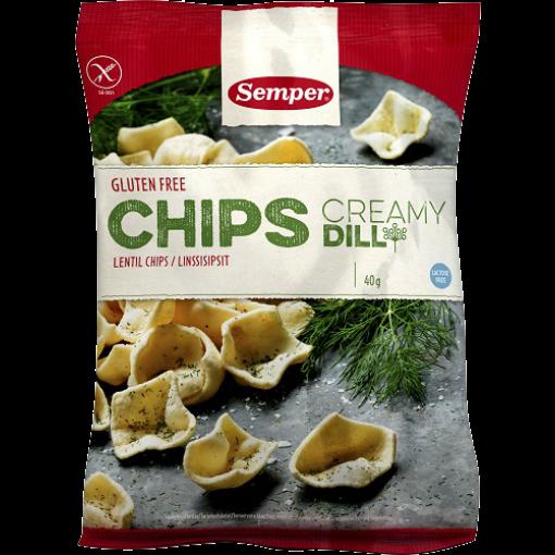 Semper Linzen Chips Creamy Dill