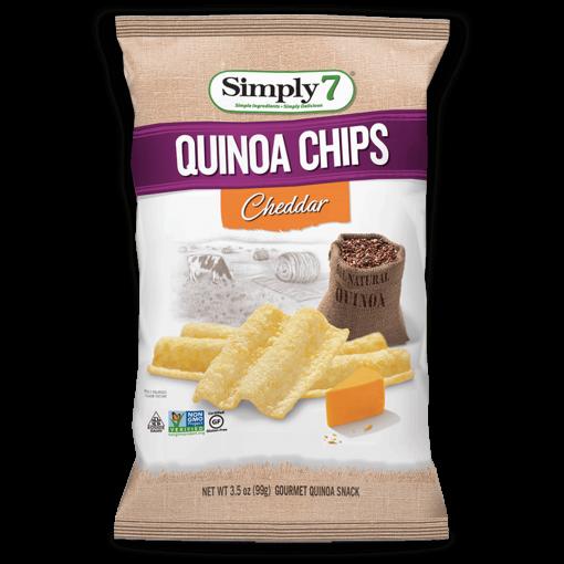 Quinoa Chips Cheddar