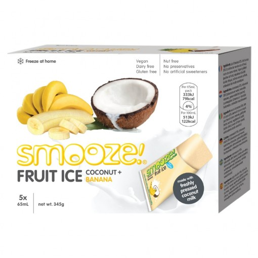 Smooze Fruit Ice Coconut & Banaan