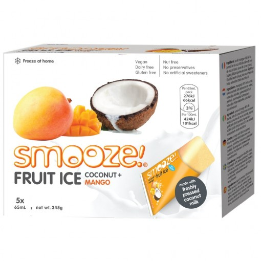 Smooze Fruit Ice Coconut & Mango