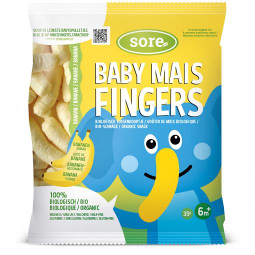 Sore Baby Mais Fingers Banaan