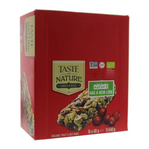 Taste of Nature Cherry (Doos - 16 stuks) (T.H.T. 15-10-20)