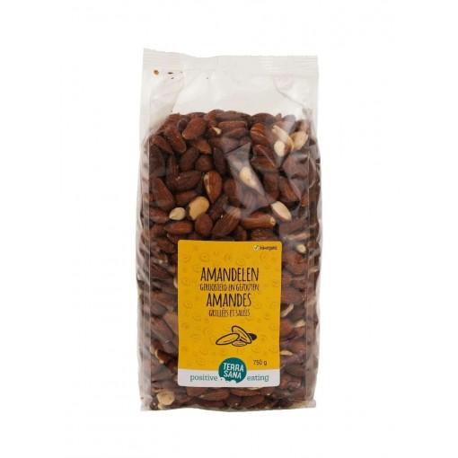 Terrasana Amandelen Geroosterd & Gezouten 750 gram