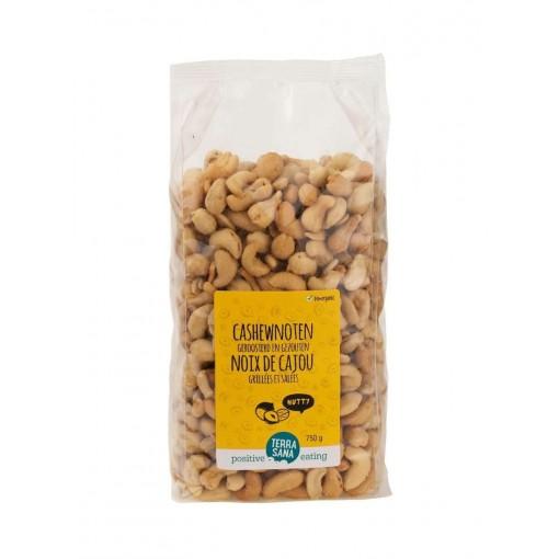 Terrasana Cashewnoten Geroosterd & Gezouten 750 gram