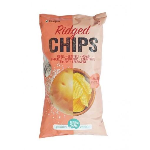Terrasana Ribbel Chips Gezouten