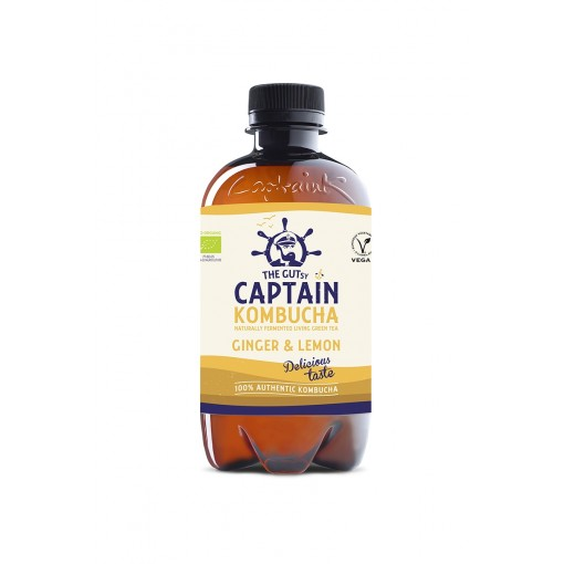 Captain Kombucha Kombucha Ginger & Lemon