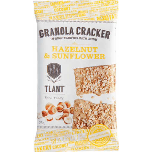 TLANT Granola Cracker Hazelnut & Sunflower