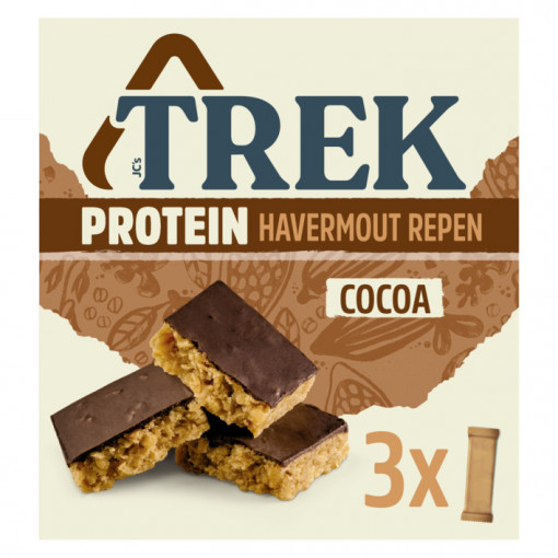TREK 3-pack Protein Cocoa reep