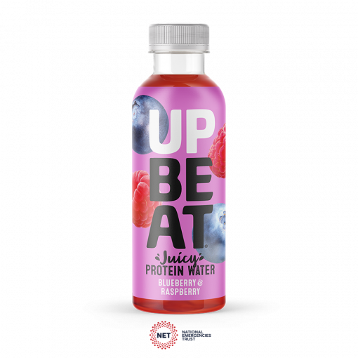Upbeat Juicy Protein Water Blueberry & Raspberry