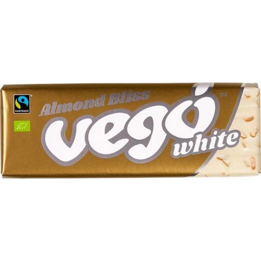 Vego Chocoladereep Wit & Amandel