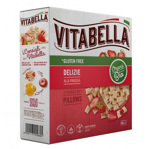 Vitabella Strawberry Pillows