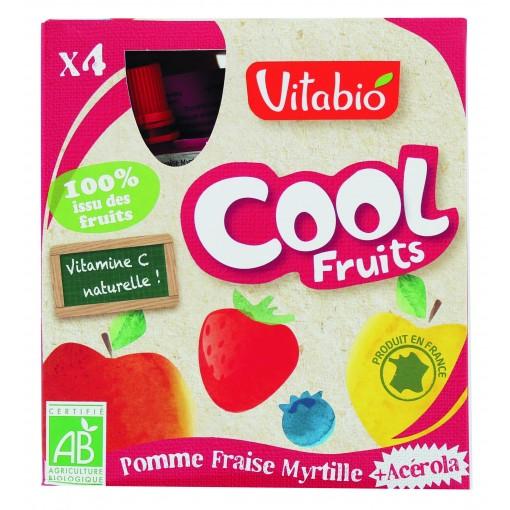 Cool Fruits Appel Aardbei Bosbes