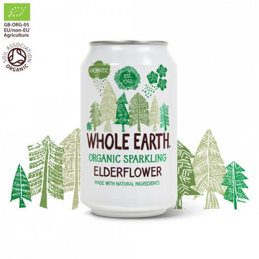 Whole Earth Frisdrank Elderflower