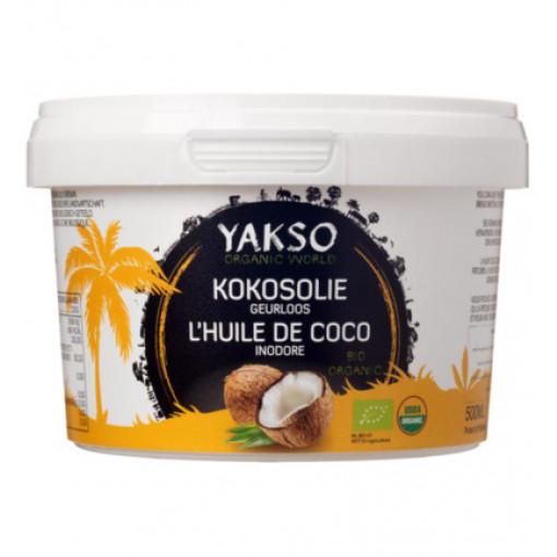 Yakso Kokosolie Geurloos 500 ml