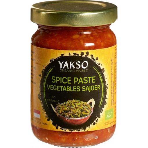 Yakso Spice Paste Vegetables Sajoer