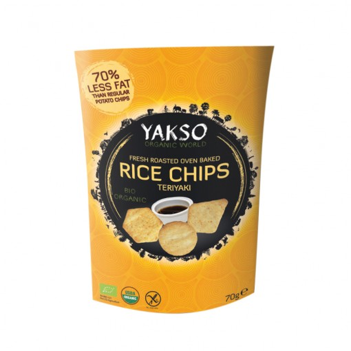 Yakso Rijst Chips Teriyaki