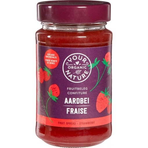 Your Organic Nature Aardbeien Fruitbeleg