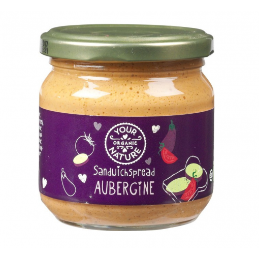 Your Organic Nature Aubergine Sandwichspread
