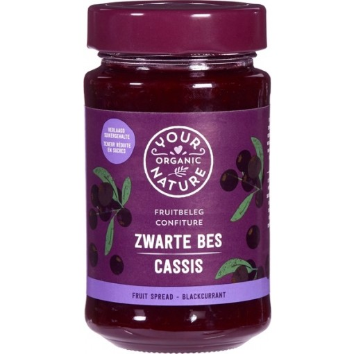 Your Organic Nature Zwarte Bes Fruitbeleg