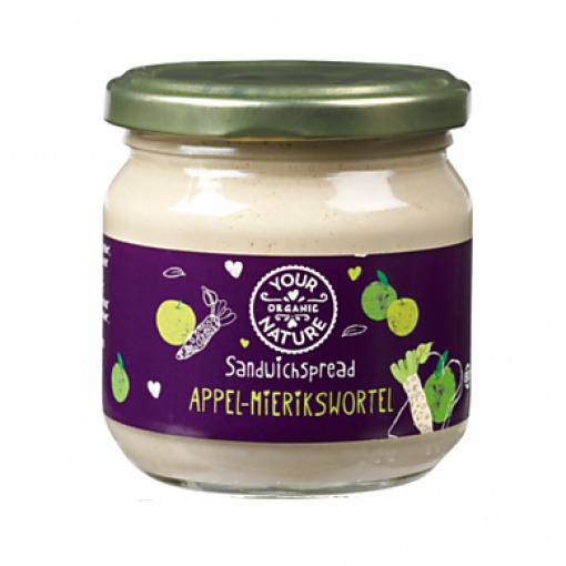 Your Organic Nature Appel Mierikswortel Sandwichspread