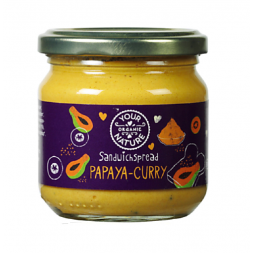 Your Organic Nature Papaya Curry Sandwichspread