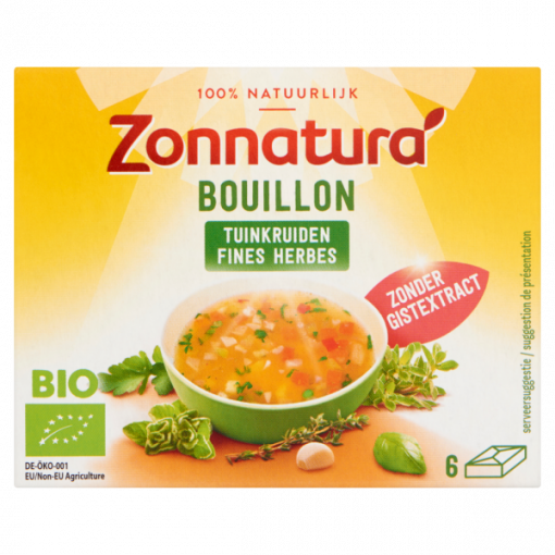 Zonnatura Bouillon Tuinkruiden Zonder Gist