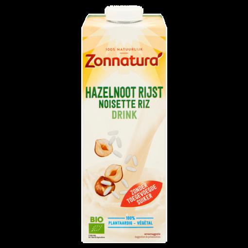 Zonnatura Hazelnoot Rijstdrink