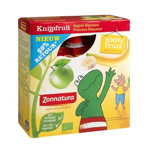 Zonnatura Knijpfruit Appel Banaan Kikker