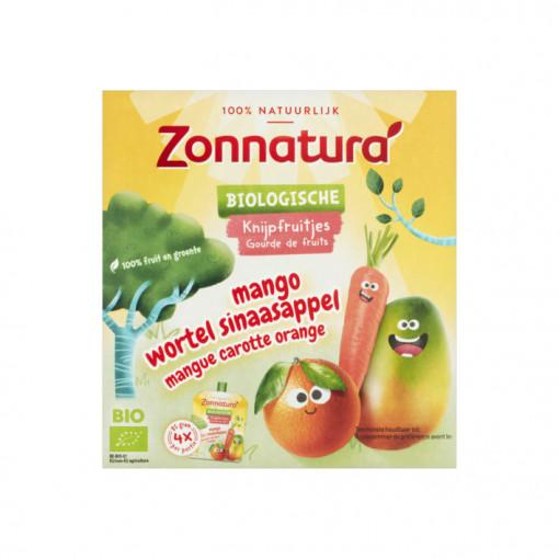 Zonnatura Knijpfruit Mango Wortel Sinaasappel